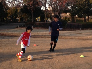 サッカー 子ども